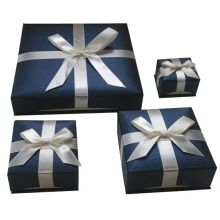 Unique Design Ribbon Jewelry Gift Box