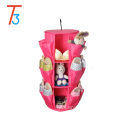 360 degree spinning Smart Carousel Hanging shoe Organizer