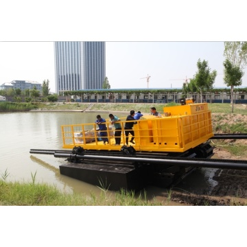 Strong crawling ability-Amphibious Excavators