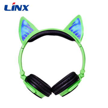 Cat ear headphones Gaming Wireless Headset headphones