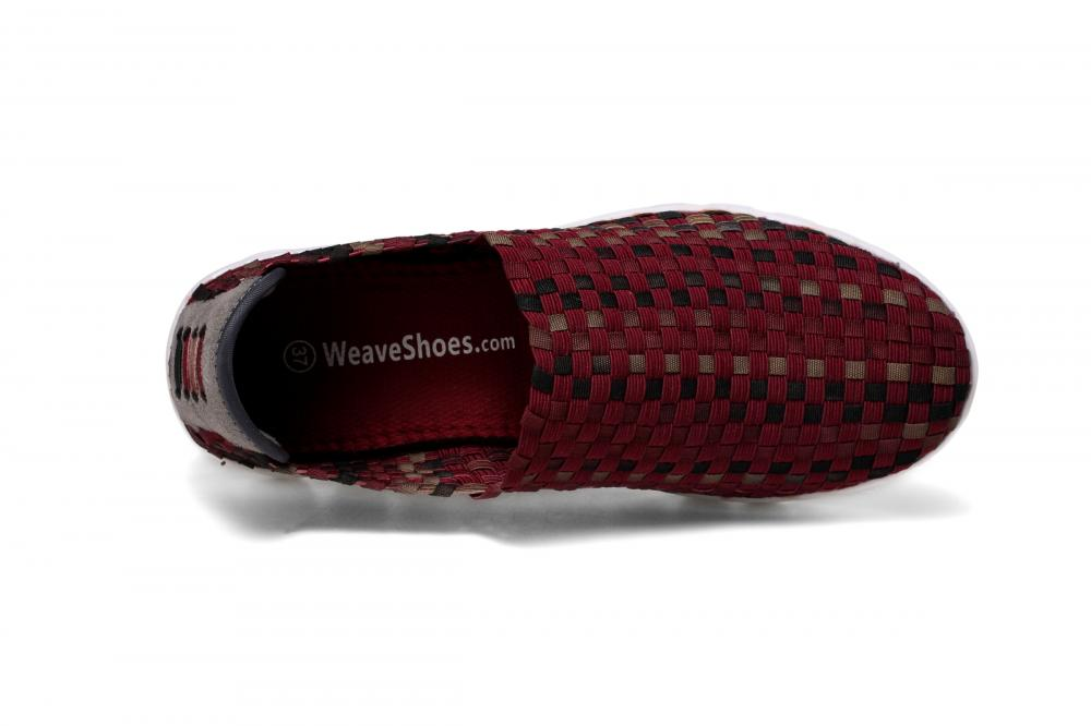 Anti-bacterial Insoles Woven Loafers
