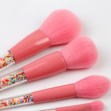 I-Special 5 Pcs Makeup Brush ne-Candy Handle