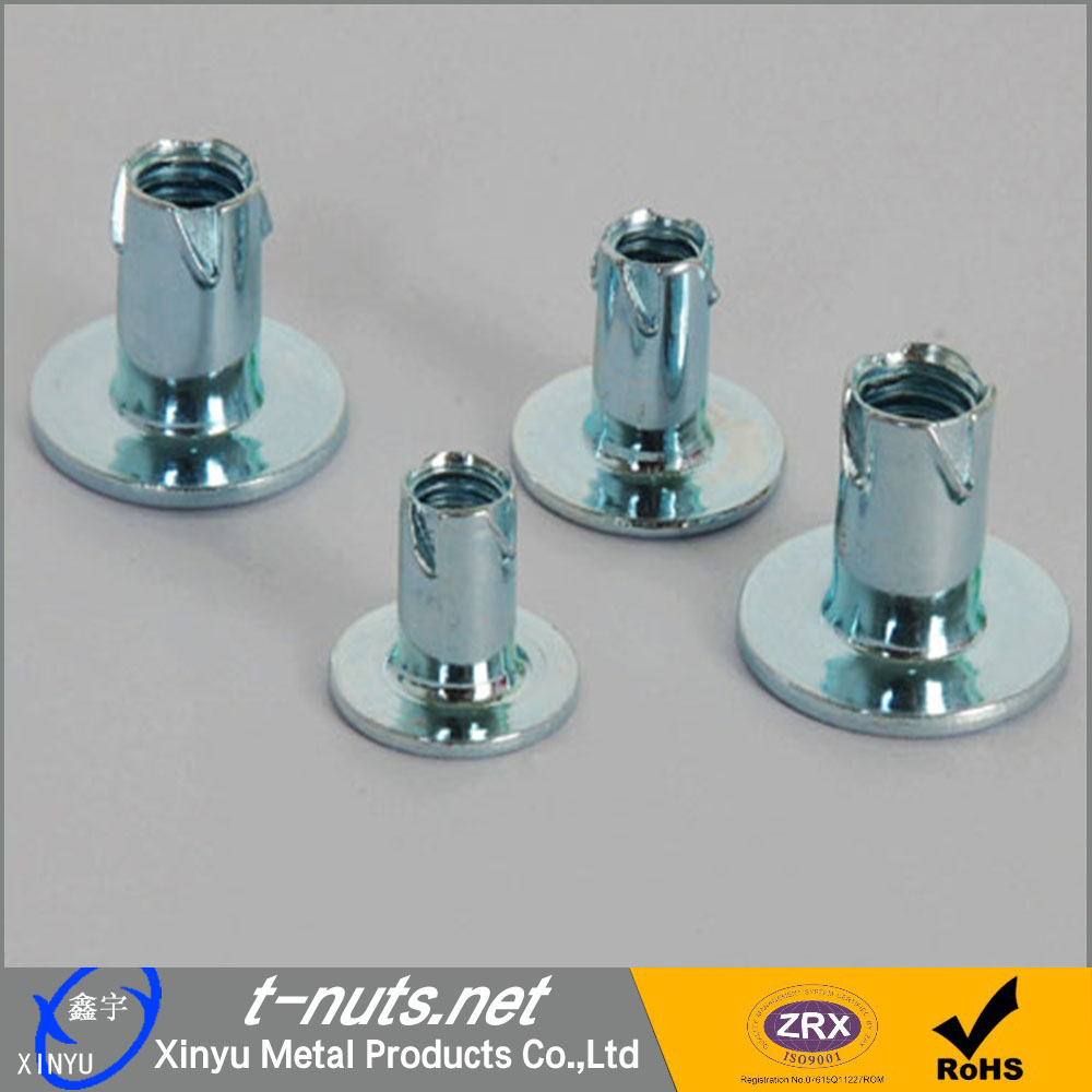 Carbon steel propeller nuts for wood