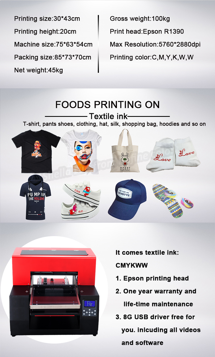 Printer for T Shirt Price