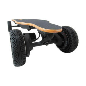 New Arrival China for Electric Skateboard Two Wheel Black Color SUV Electric Skateboard export to Liberia Factory