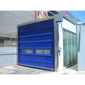 Factory high speed stacking rolling up door