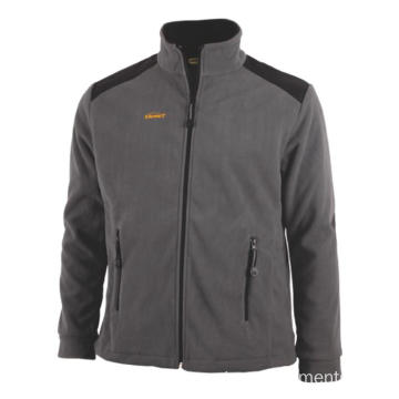 Oxford reinforcement  Fleece Jacket