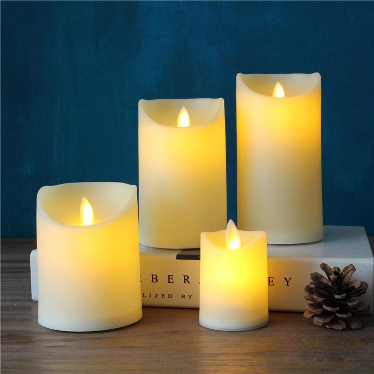 Led Pillar Candle Ac