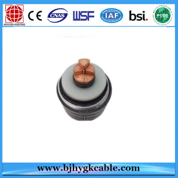 290/500(550)kv 1x1600mm2 high voltage XLPE insulated power cable