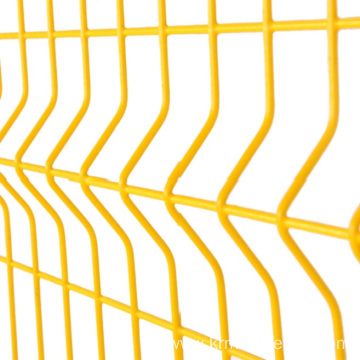 3d Curved fence panels triangle bending fence
