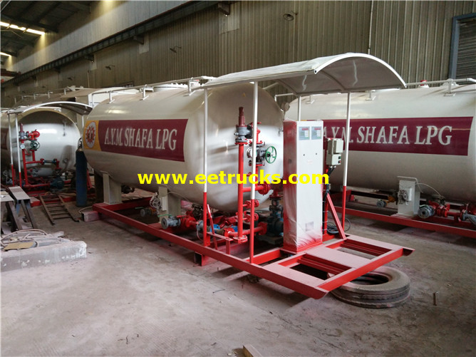 5MT Skid-mounted LPG Filling Stations
