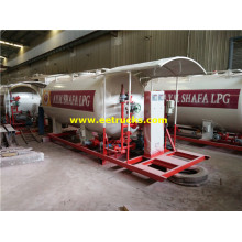 12000L 5MT Skid-mounted LPG Filling Stations