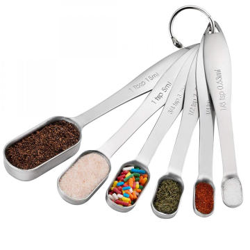 Good Quality for Measuring Spoon Set Stainless Steel Mirror Polish Measuring Spoon Set supply to Czech Republic Factories