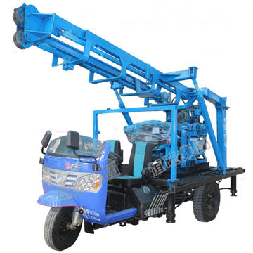 190m Tricycle Water Drilling Rig