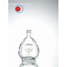 Reposado Glass Round Shape Bottle