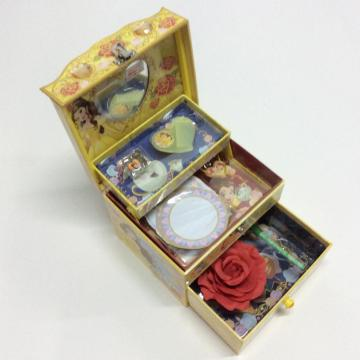Paper diamond princess style jewelry storage box