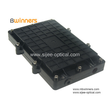 Horizontal Fiber Optic Splice Closure Joint Box 12 Fibers