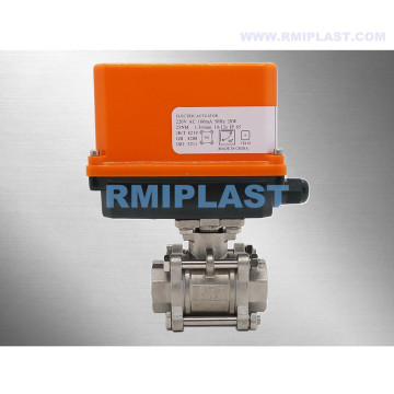 STAINLESS STEEL ELECTRIC CONTROL BALL VALVE 220V 24V
