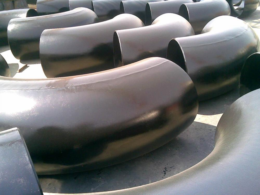 SCH40 carbon steel pipe fittings 90 elbows