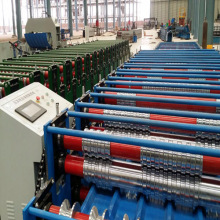 Corrugation Wave Metal Sheet Roll Forming Machine