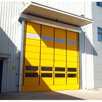 Window Industrial Resist High Speed ​​Stacking Door
