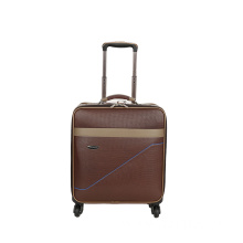 Attractive super mute pu luggage case