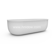 Good Quality for China Apartment Size Freestanding Bathtub,Acrylic Freestanding Bathtub,Large Freestanding Bathtub,Large Pedestal Freestanding Bathtub Manufacturer Free Standing Acrylic Back To Wall Tub export to Tuvalu Supplier