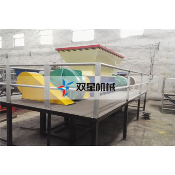 waste rubber recycling shredder machine for sale