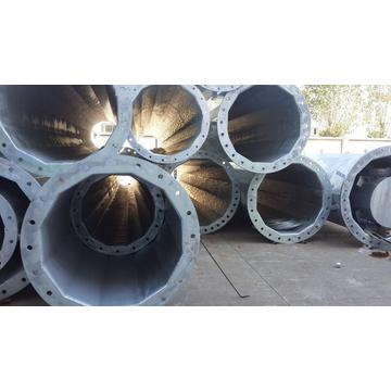 Flange Joint Galvanized Steel Pole