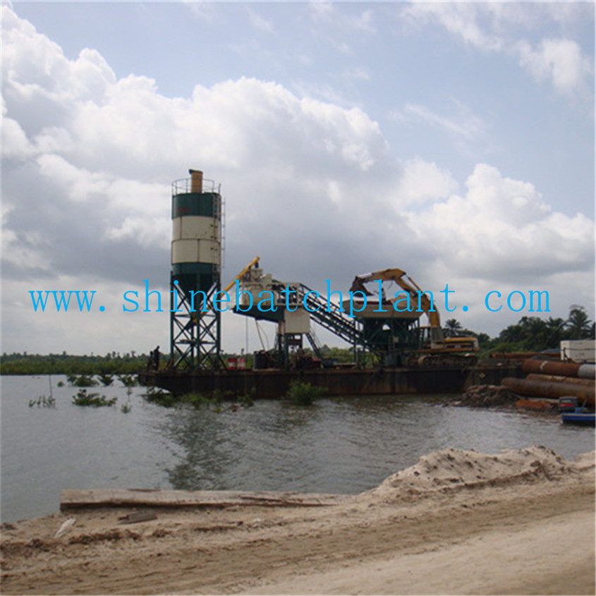 35 Mobile Concrete Batching Plant On Sale