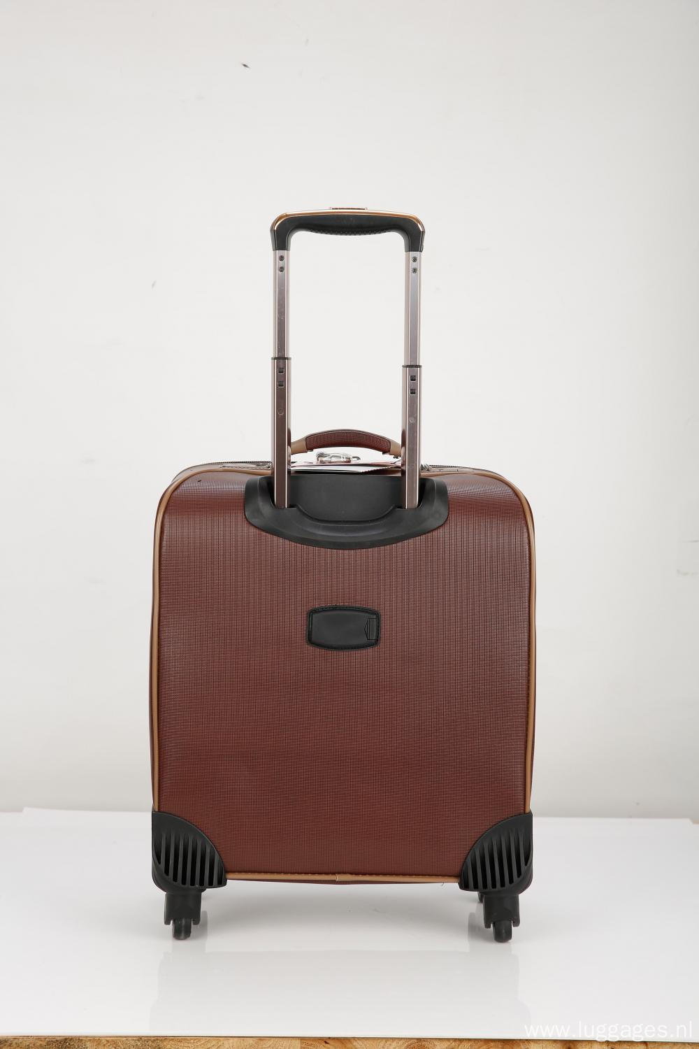 Vintage Caster Boarding Luggage