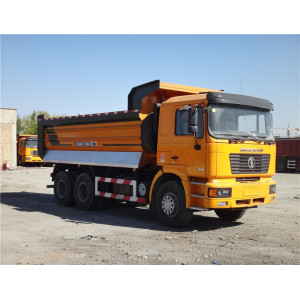 Shacman 6X4 dump truck in uae with weichai engine
