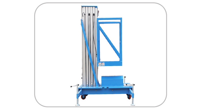 Al Alloy Mast Hydraulic Lift