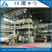 Full automatic 2.4m SS PP nonwoven fabric making machine with great price