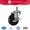 Black Rubber Industrial Caster
