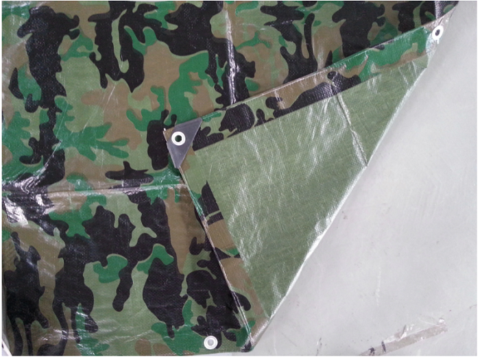 Waterproof Army Green Camoflague Tarpaulin