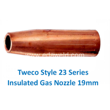 Tweco 23-75 Style Insulated Gas Nozzle