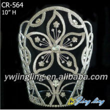 New fashion Chinese redbud Crown big flower shape
