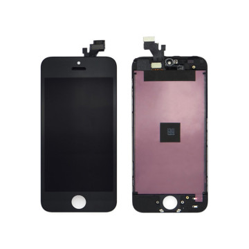 Ekrani LCD i iPhone 5 me prekje të ekranit Digitizer Black