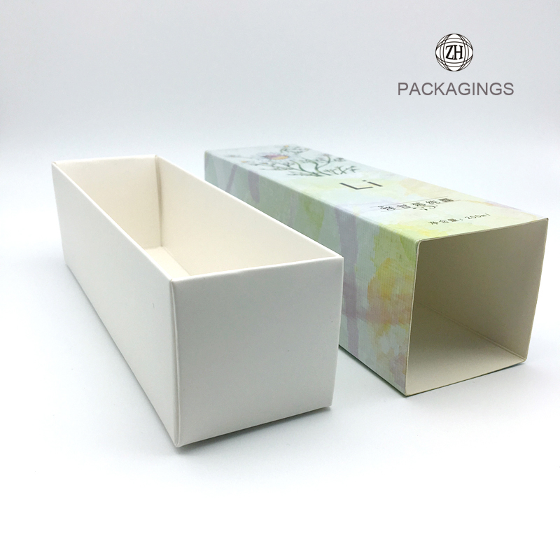 Custom made paper packaging box for essential oil