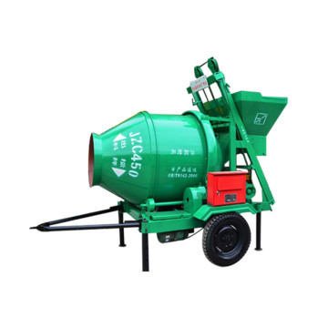 Self-loading drum roller concrete pan mixer for sale