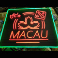 LASVEGAS און MACAU LED NEON ILLUMINATED SIGNAGE