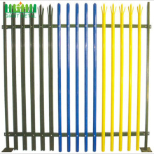 Powder Coated Cheap Wrought Iron Zinc Steel Fence