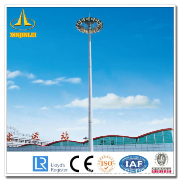 Q235 Powder Coating High Mast Poles