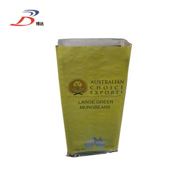 BOPP Laminated Mungbean PP Bag