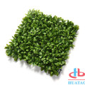 Decorative Grass Wall Plant Artificial Plant Boxwood Hedge
