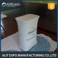Portable customer trade show tension fabric counter