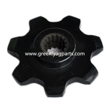 Special for Case IH Combine Parts, Case IH Corn Head Parts Leading Manufacturer,Chain drive sprocket with heat treatment, lower idler support 86837081 Case-IH cornhead 7 Tooth Chain Sprocket supply to Latvia Manufacturers