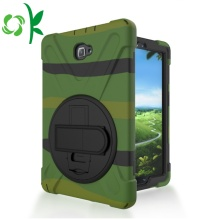 Silicone Tablet Defender Case With Hand Grip Stand