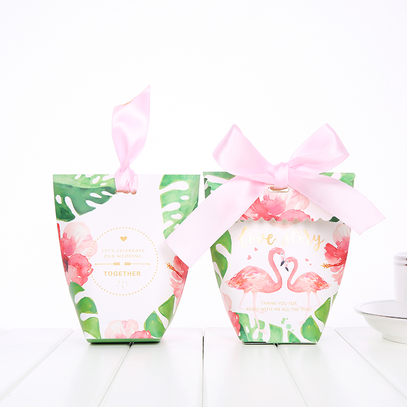 Wedding candy paper box